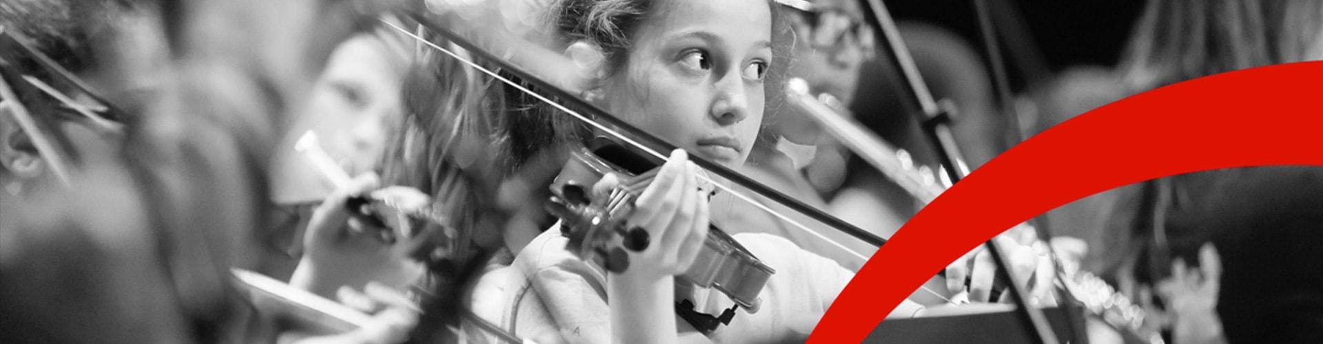 Orchestre à l'école - Bannière Photo